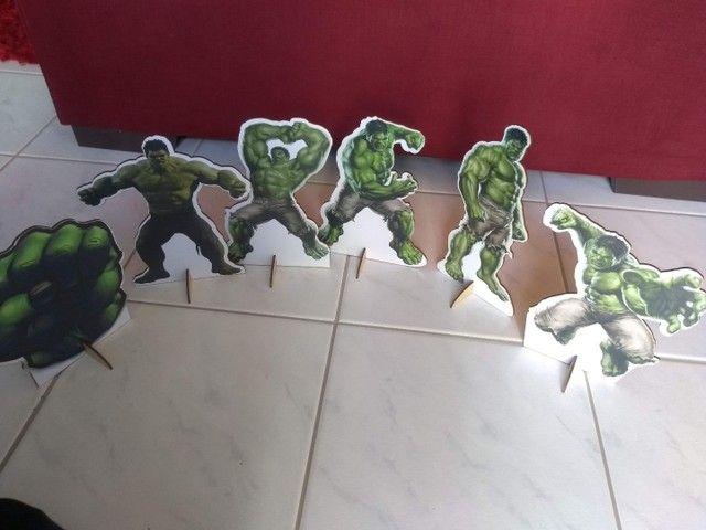 Kit Decoração Hulk  - Foto 4