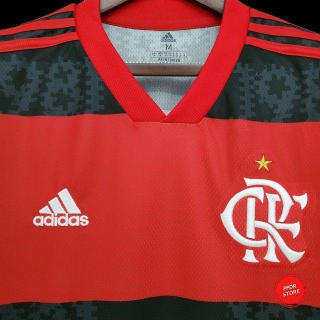 Camisa do atlético mineiro, borussia dortmund, flamengo, corinthians, etc - Foto 2