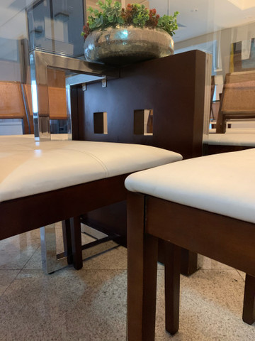 Mesa de jantar 8 cadeiras  - Foto 4