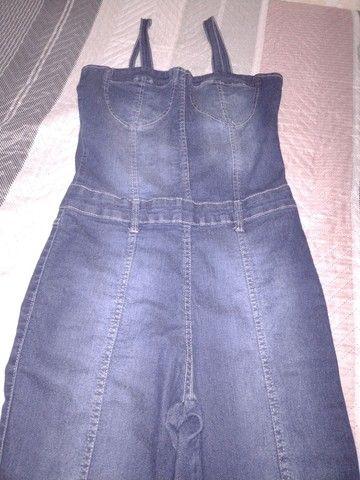 Macacão longo jeans - Foto 2