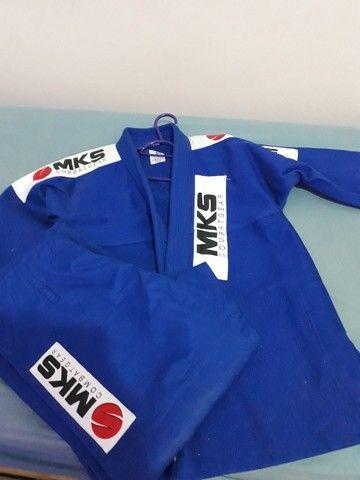 kimono de judô azul - Foto 2