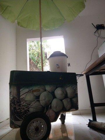 Carrinho De água de côco - Foto 3