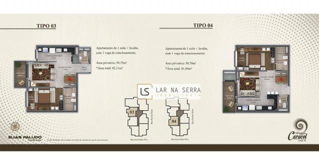 Apartamento com 2 dormitórios à venda, 105 m² por R$ 549.000,00 - Vila Suiça - Canela/RS - Foto 7