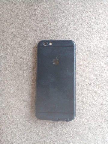 Troco iPhone 6 64 Gb bateria 100% por Android ou pc gamer - Foto 3