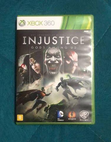 Injustice X box 360