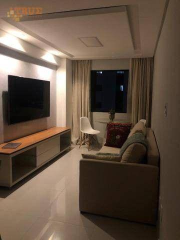 Apartamento com 2 dormitórios à venda, 47 m² por R$ 397.000,00 - Madalena - Recife/PE - Foto 4