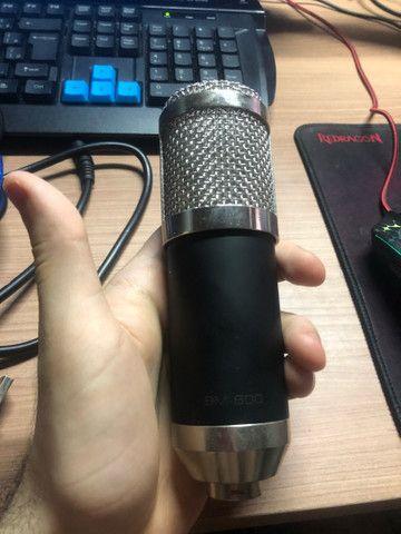 Microfone profissional MB800+ compressor de ruído - Foto 3