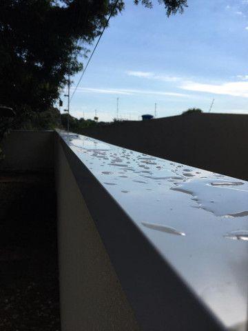 Reparos em telhados calhas e rufos