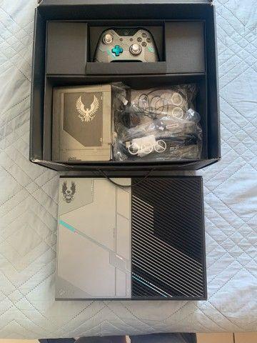Xbox ONE 1TB Edição Halo 5 (COM NOTA FISCAL) - Foto 2