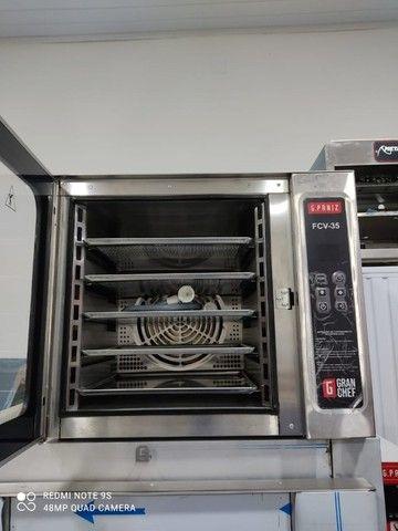 Forno para pizza e de Convecção Elétricos - Skymsen/G.paniz - Produto NOVO - Vix  - Foto 3