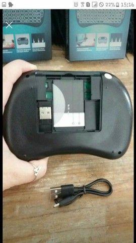 Teclado/Controle Wireless Mouse - Foto 3