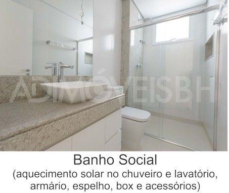 Apartamento à venda, 3 quartos, 1 suíte, 3 vagas, Sion - Belo Horizonte/MG - Foto 7