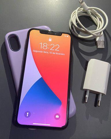 IPhone X 64gb/troco em iPhone 7 ou superior + volta  - Foto 5