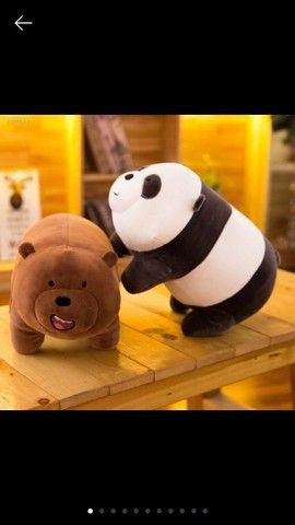 Boneca De Pelúcia Ursos Sem Curso Desenho Animação Ao Redor Eua Três