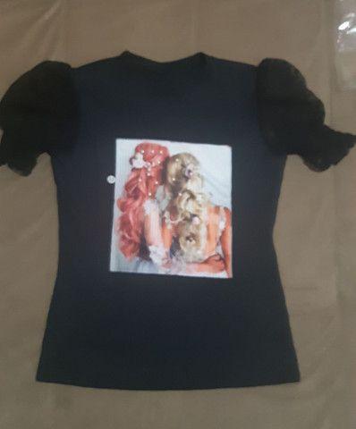Blusinhas femininas / calça  - Foto 4