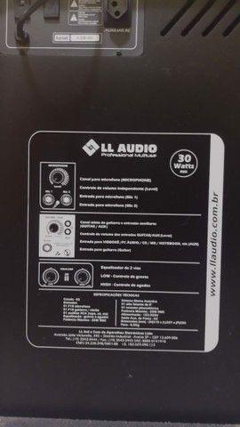 Caixa Amplificada Multi Uso LL 120 LL Áudio  - Foto 3