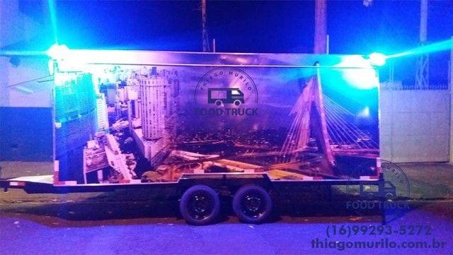 Trailer Top 5x2m Food Truck Direto da Fábrica Especialista - Foto 5