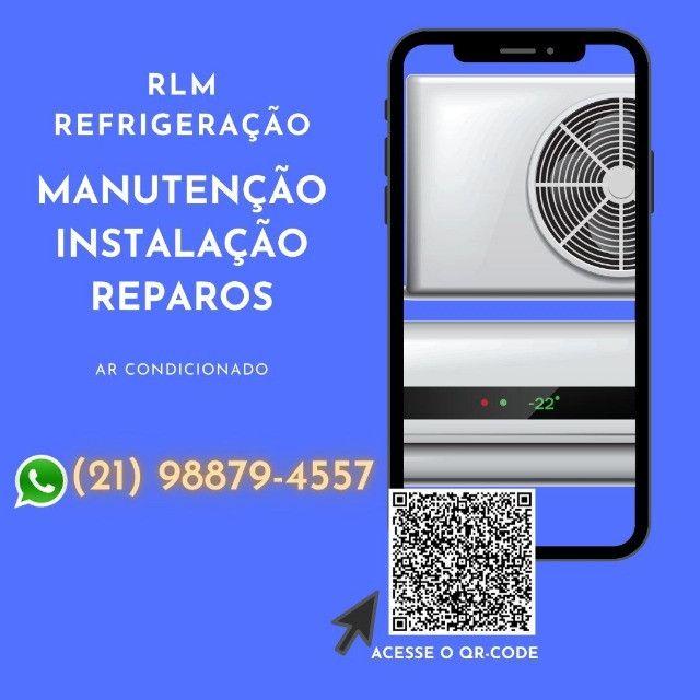 Ar Condicionado e Máquina de Lavar - Foto 2