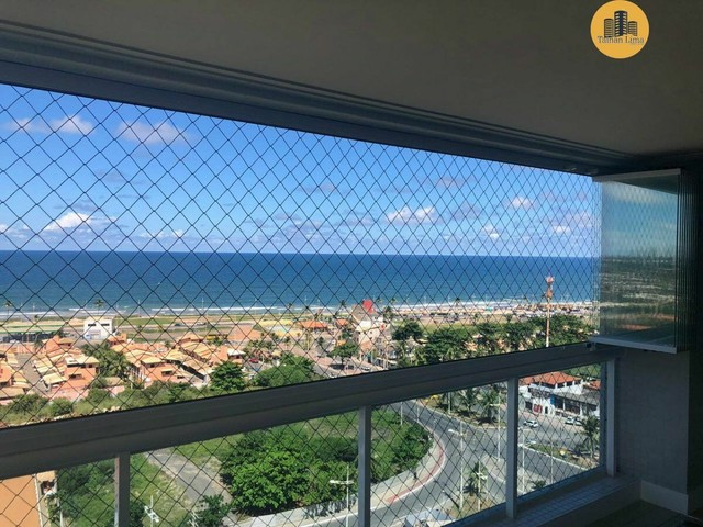 Apartamento com 4 suítes, vista mar em ´Patamares,3 vagas, Nascente.