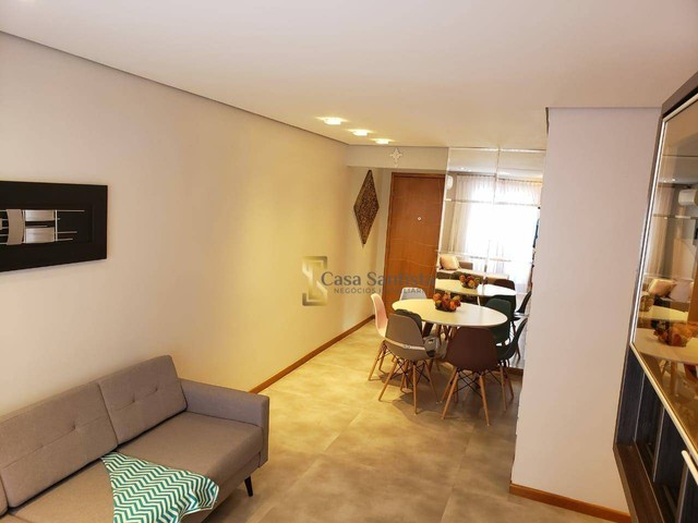 Apartamento com 2 dormitórios à venda, 70 m² por R$ 485.000,00 - Aparecida - Santos/SP