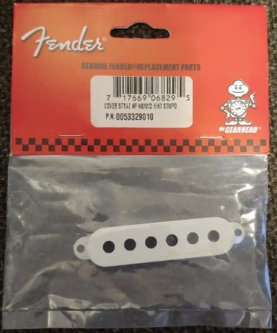 Capa para Captador Fender Vintage Noiseless (ponte) - Foto 4