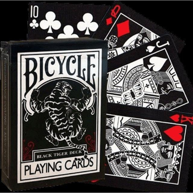 Baralho Bicycle Black Tiger Theory11 Magica