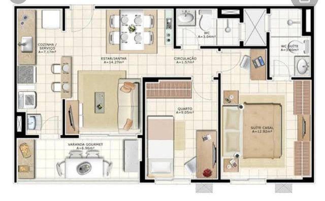 Apartamento varanda Castanheira  - Foto 5