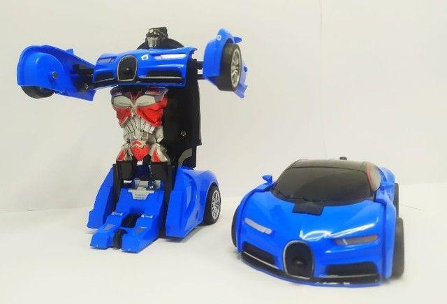 mini carro que se transforma em robo - Foto 2