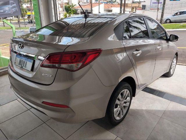 Hyundai HB20S Comfort Plus 1.6 Flex Automático 2019 - 27.481 Km / Garantia Fábrica 11/2023 - Foto 6
