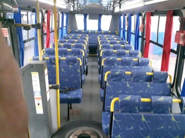 Micro Ônibus Ibrava Escolar Prata 51 Lugares. - Foto 5