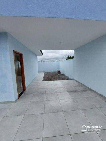Casa com 2 dormitórios à venda, 67 m² por R$ 190.000 - Jardim Santa Rosa - Mandaguaçu/PR - Foto 3