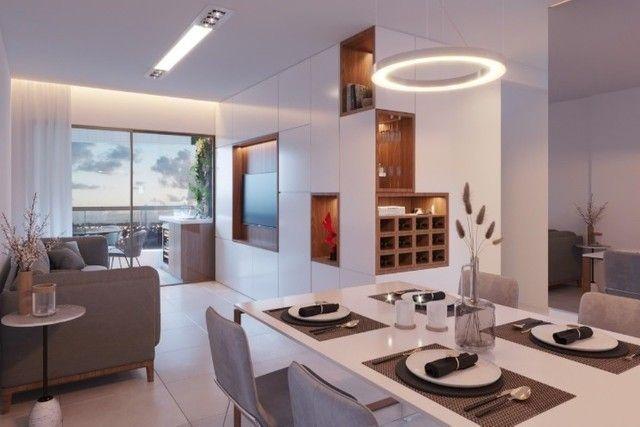 RB 081 Lançamento nas Graças | Apart, de 85m² com Varanda Gourmet | Edf. Dumont Garden