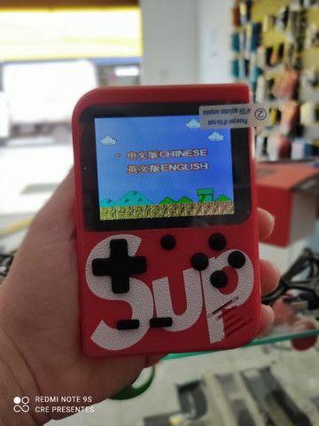 Mini Game Sup 400 em 1 acompanha manete pronta entrega - Foto 2