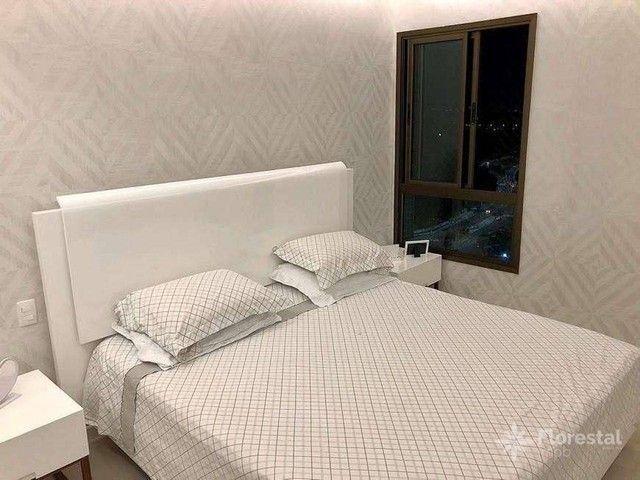 Apartamento 4 suítes alto padrão decorado com varanda/ Maison Biarritz Patamares Apt patam - Foto 19