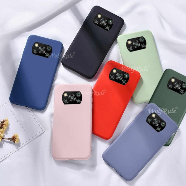 Pronta Entrega Capa Case Anti Impacto Xiaomi Poco X3 Transparente e Coloridas - Foto 2