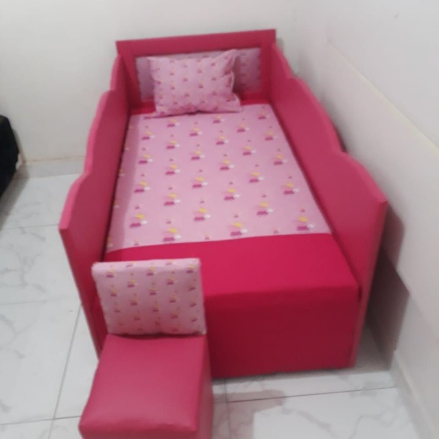 Adquira já lindas camas infantil já com colchão. - Foto 6