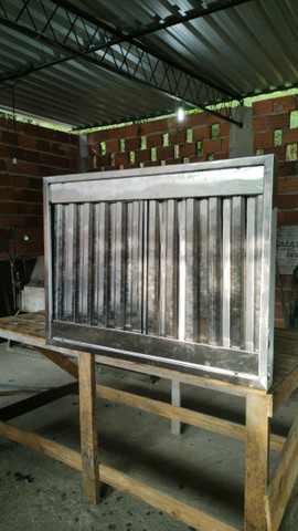 Coifas sob medida em inox com filtros - Foto 5