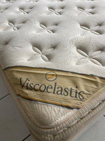 cama box queen size - Viscoelastic - entrego - Foto 4
