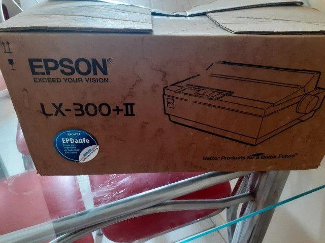 Impressora Matricial Epson Lx-300+ii(Nova na caixa)