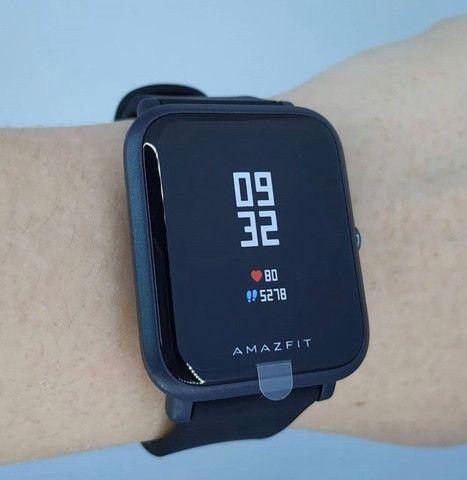 Pronta Entrega Smartwatch Amazfit Bip Relogio Fitness Gps Bluetooth Corrida