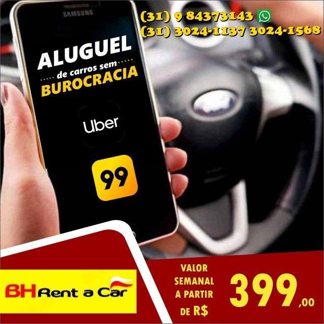 Aluguel de veículos para motoristas de aplicativos