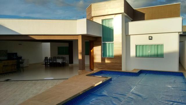 Casa nova 5 quartos rua 06 Vicente Pires alto padrão fino acabamento moderna - Foto 2