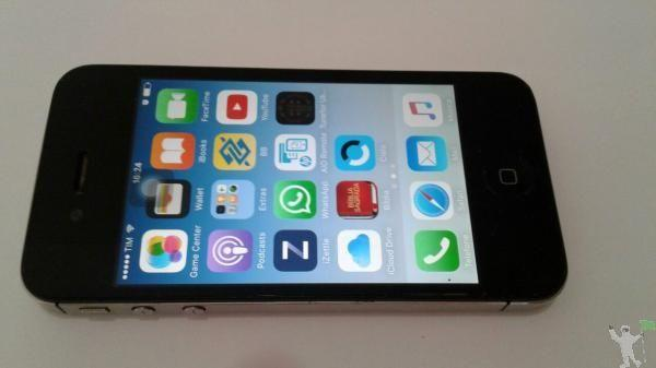 IPhone Apple 4S 16G Preto Muito Conservado