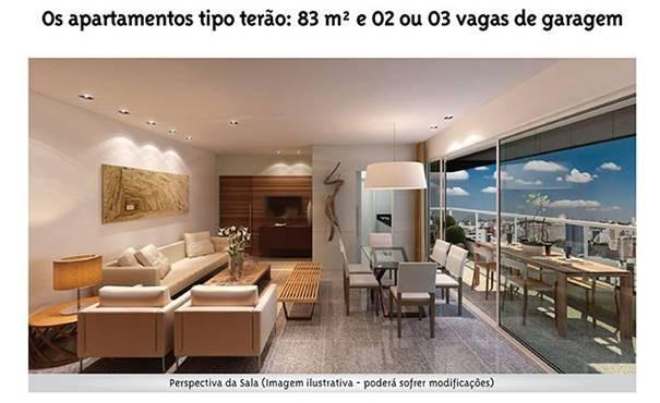 Apartamento à venda com 3 dormitórios em Serra, Belo horizonte cod:1021 - Foto 4