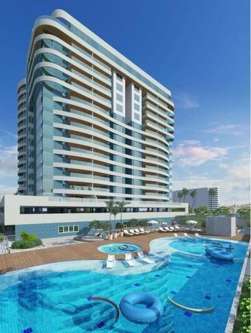 Apartamento na primeira quadra da Jatiuca com PARCELAMENTO EM 24 MESES