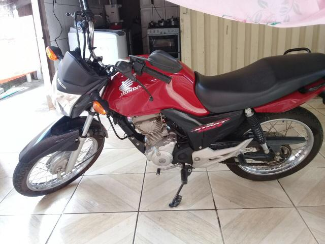 Vendo moto Honda cg start ES 160