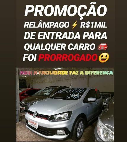 Para TUDO AGORA!! R$1MIL DE ENTRADA(CROSSFOX 1.6 2015)