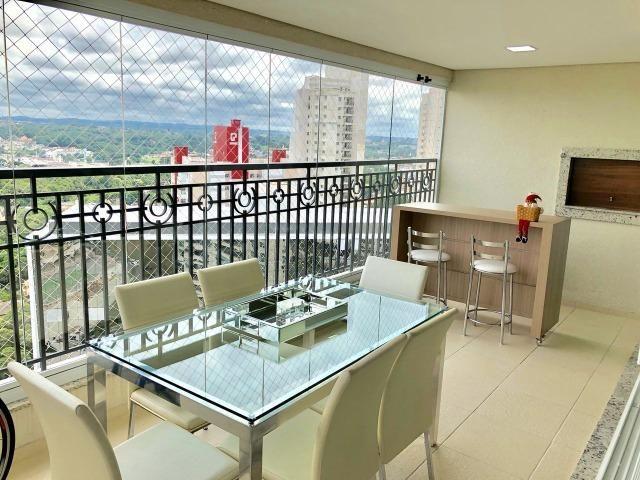 Belíssimo apartamento de alto padrão com 4 dormitórios, em condomínio clube, no Ecoville - Foto 5