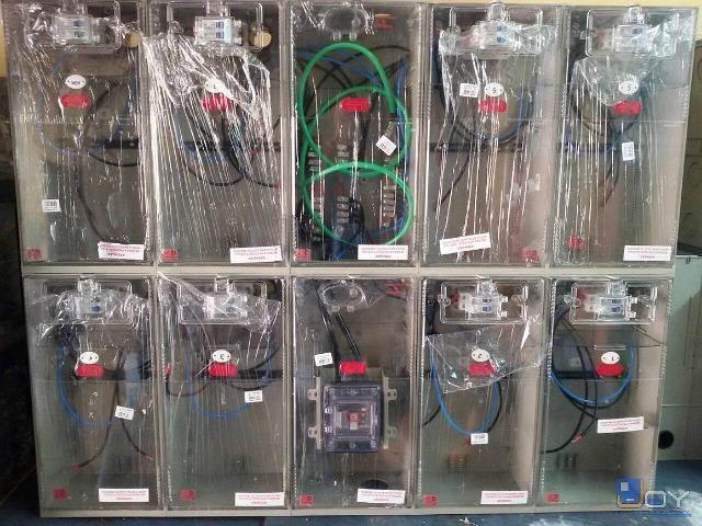 Caixa de Luz padrão Eletropaulo Enel - Montada 1 Medidor / Inmetro Produto Novo - Foto 3