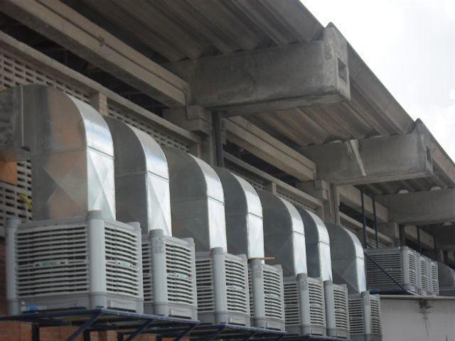 Dutos de exaustor ar condicionado e pressurização - Foto 2